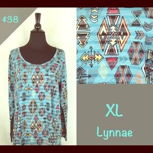 New LulaRoe Lynnae top. $38 each